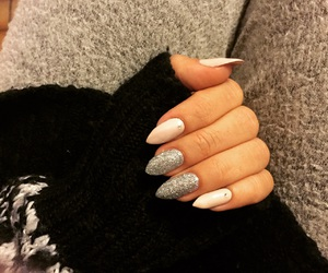 beige, fantasy, and nails style image