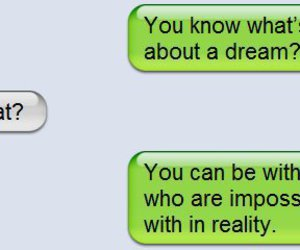 Dream, iphone, and text image