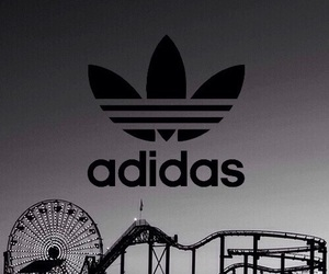 adidas, black, and wallpaper image