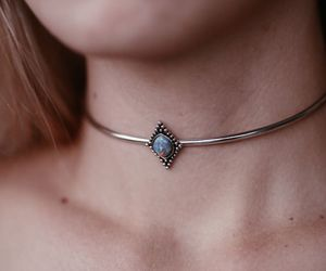 choker, jewel, and stone image