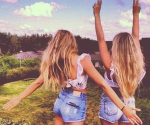 bff, blonde, and friends image