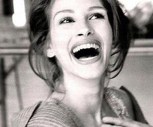 julia roberts, smile, and beauty image