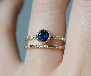 blue, ring, and accessories image