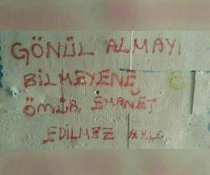 sözler, yazılar, and duvar yazıları image