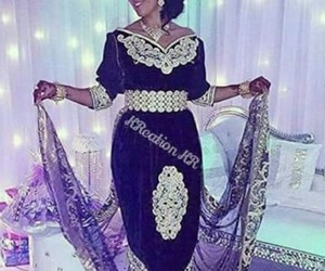 mariage, robe, and algerie image