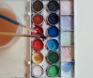 minimalism, paint, and paintbrush image