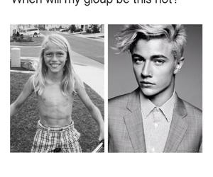 blackandwhite, guy, and malemodel image