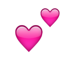 pink, emoji, and heart image
