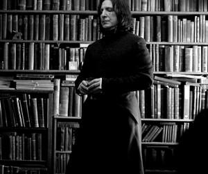 harry potter, severus snape, and hogwarts image