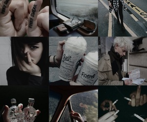 aesthetic, slytherins, and draco malfoy image