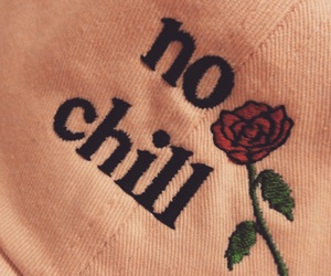 rose, aesthetic, and no chill image