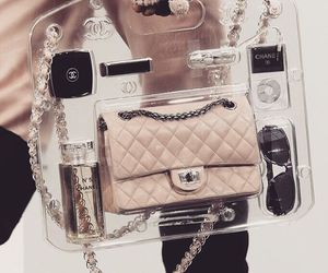 channel, pink, and fashion image