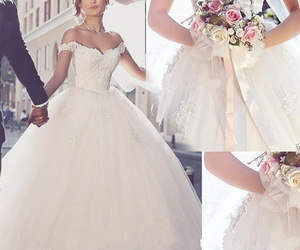 2016, ball gown, and off the shoulder image