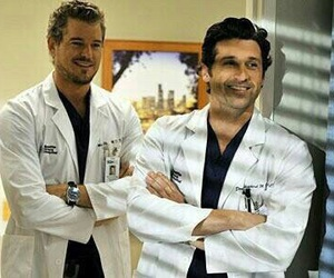 grey's anatomy, mark sloan, and patrick dempsey image