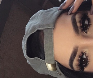 eyebrows, eyelashes, and nails image