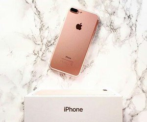 must have, iphone 7 plus, and rose gold image