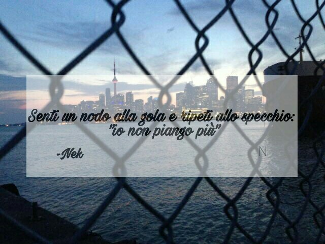Io Non Piango Più Discovered By Nicoletta On We Heart It