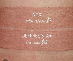 beauty, dupe, and jeffree star image