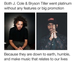 facts, j cole, and bryson tiller image
