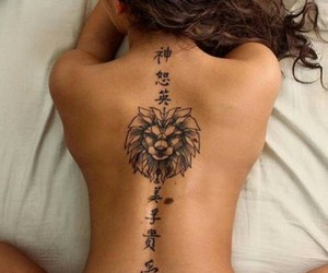 girl, ink, and tatto lover image