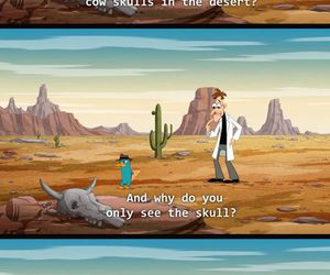 funny, perry, and phineas and ferb image