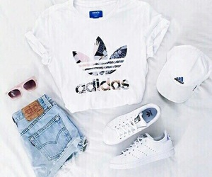 addidas, beauty, and clothes image