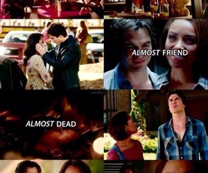 almost, Bonnie, and damon image