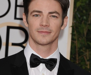 grant gustin, flash, and boy image