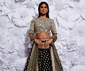 bridal, model, and indian fashion image