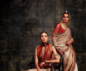 bridal, woman, and indian fashion image