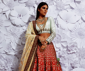 bridal, model, and woman image