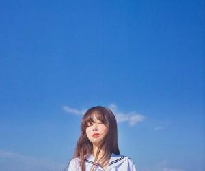 girl, sky, and korean image