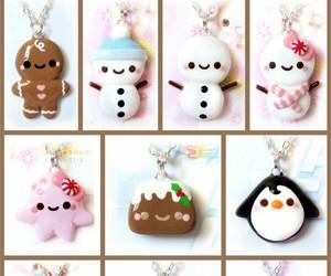 charm, christmas, and fimo image