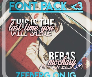 fonts, marina and the diamonds, and reference image