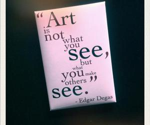 art, cool, and edgar degas image