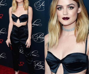 lucy hale, pll, and fashion image