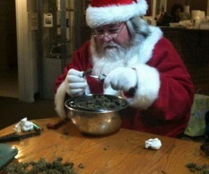christmas, santa, and high image