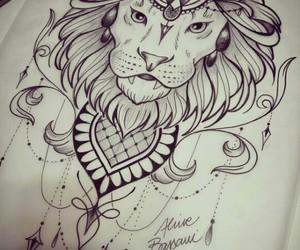 art, draw, and Leo image