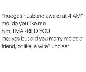funny, wife, and love image