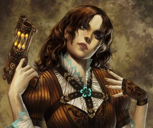 deviantart, drawing, and steampunk image