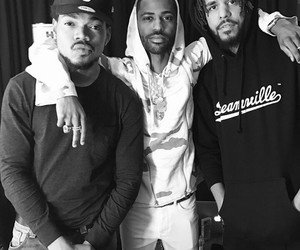 j cole and chance the rapper image