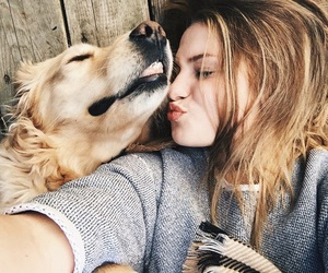 doggy, love, and friendship goals image
