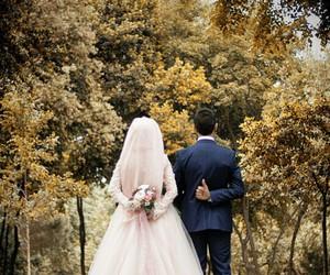 hijab, turkiye, and gelin image