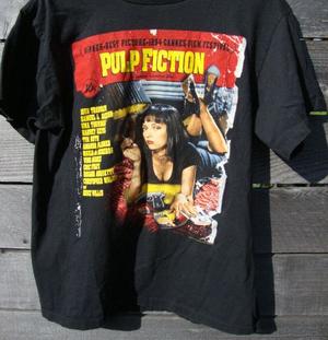 print, pulp fiction, and shirt image