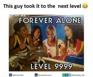 funny, meme, and forever alone image