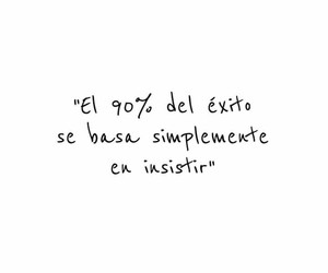frases, exito, and frases en español image