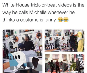 barack obama, costume, and funny image