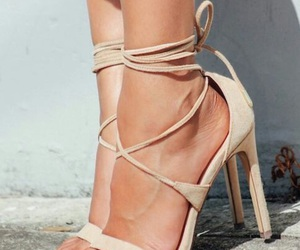 beige, chic, and heel image