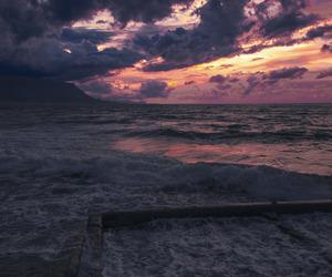 beautiful, ocean, and sky image