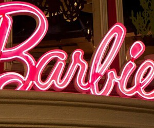 barbie, pink, and neon image